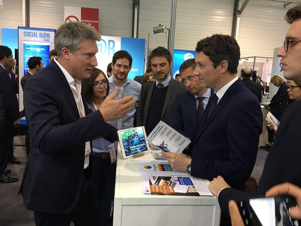>>> En présence de Stéphane Beaudet et Benjamin Griveaux, secrétaire d'Etat auprès du Premier Ministre et porte-parole du Gouvernement